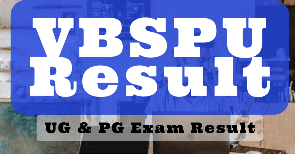 VBSPU Degree Results