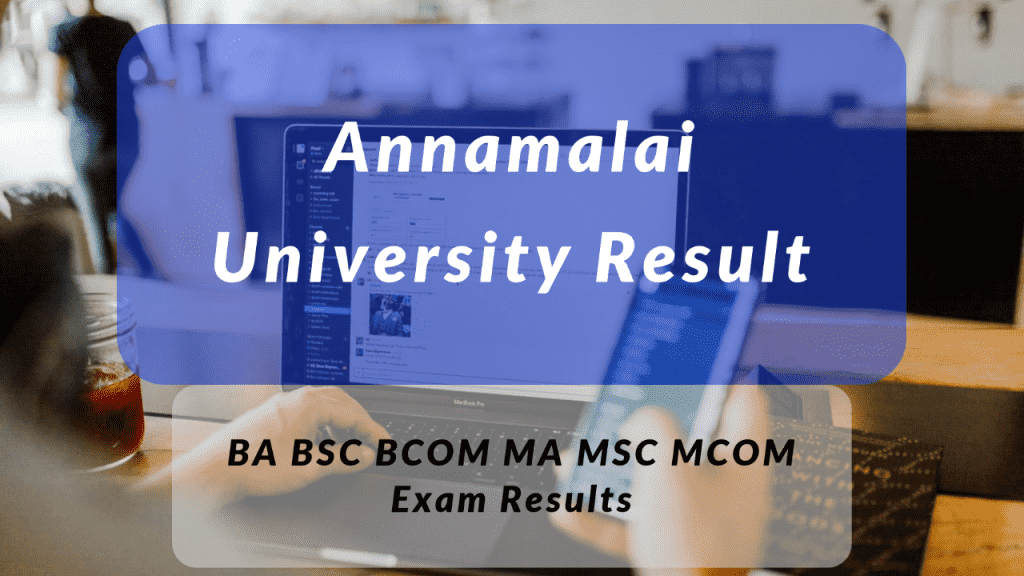 Annamalai University Result