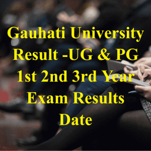 gauhati university Result