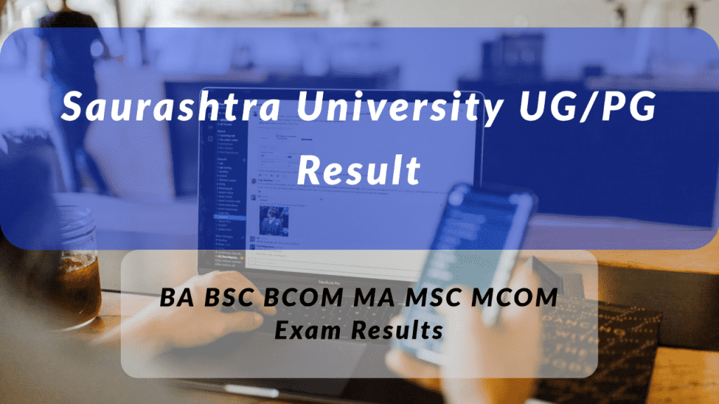 Saurashtra University Result 2021