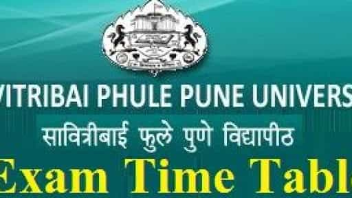 Pune University Time Table